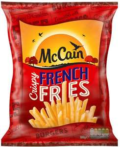 McCain Crispy French Fries (900g) £2.00 for one Pack or 2 Packs for £2.50 @ Iceland