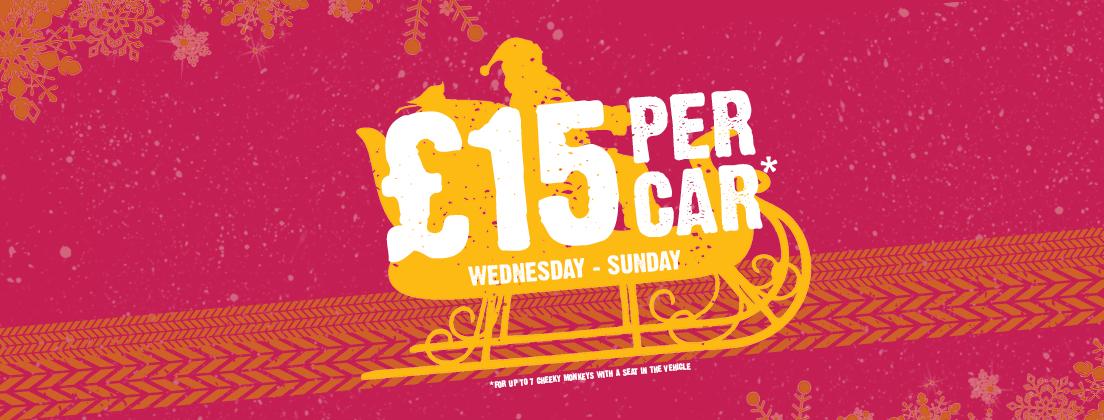 Winter Safari just £15 per car Wednesday - Sunday all winter long @ Knowsley Safari Park