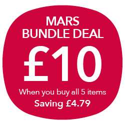 Mars Christmas 5 Piece Chocolate Bundle £10 Co op (£9 NUS) RRP £14.79