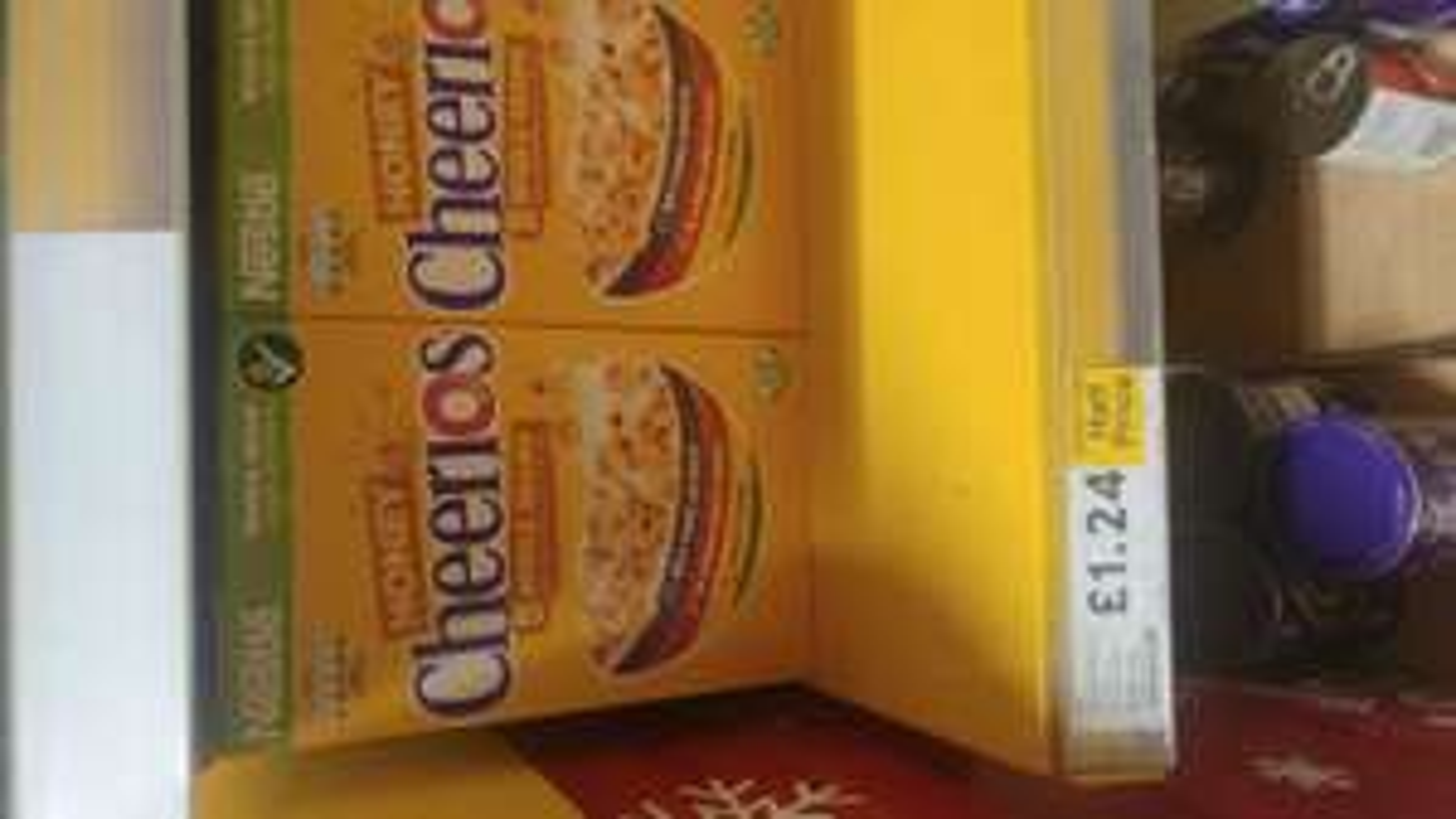 Cheerios Honey whole grain £1.24 @ Tesco
