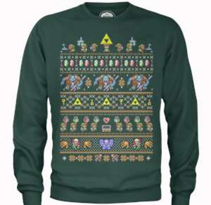 Free Nintendo Tshirt with Xmas sweatshirt £24.99 delivered @ Zavvi