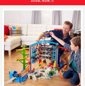 Hot wheels ultimate garage 69.99 available from smyths