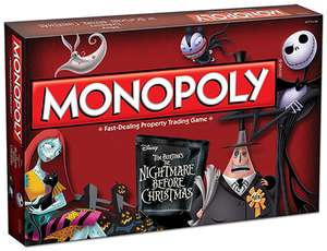 Nightmare Before Christmas Monopoly - £28.99 @ Shop4World