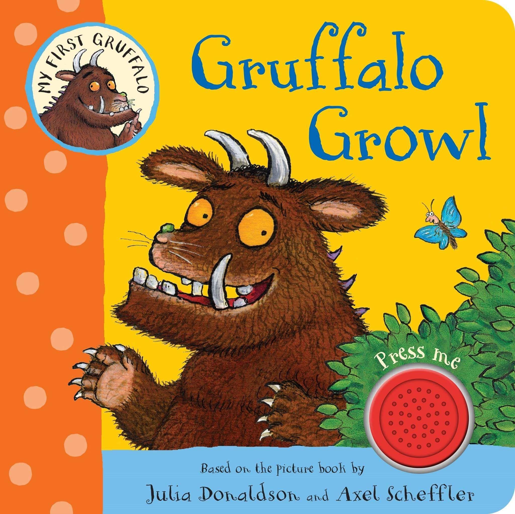 Gruffalo Growlby Julia Donaldson £3.00 prime / £5.99 non-prime @ Amazon