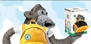 FREE PG Tips Tea Caddy & Toy Monkey @ Unilever