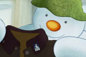 Free Snowman Pin Badges from Barbour with every order (instore and online)