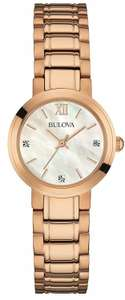 Bulova Rose Gold women watch 97P115 sold by Amazon - £64.93
