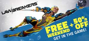 [Steam] LawBreakers Free Weekend 9th-12th Nov @ Steam