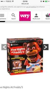 Five nights at freddys pizza game £18.99 at Very