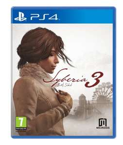 Syberia 3 (PS4) PLAYSTATION 4 BRAND NEW SEALED NEW@ ebay gamezone-stc