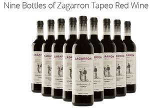 Who doesn't like a £5 bottle of wine? Nine Bottles of Zagarron Tapeo Red Wine  £52.99 delivered at Groupon