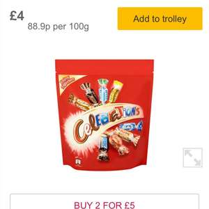 Chocolate and Sweet pouches 2 for £5 @ Morrison's