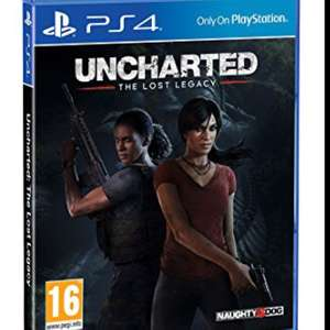 Uncharted the lost legacy (PS4) £19.99 @ GAME