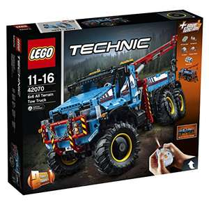 LEGO 42070 6x6 All Terrain Tow Truck Toy - £139.99 @ Amazon