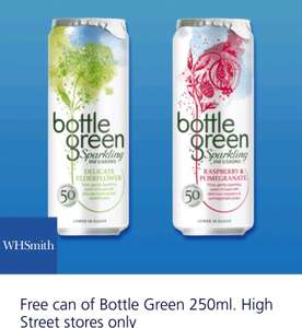 Free  can of Bottle Green 250ml with O2 priority @ WHS High Street stores only