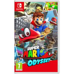 Super Mario Odyssey  £36.99 with code @ ToysRUs
