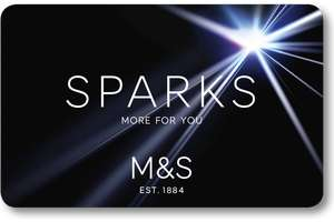 £5 off £25 M&S Food instore via Sparks (selected accounts)