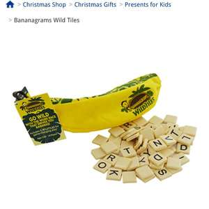 Bananagrams Wild Tiles Word Game - The Works - Free C&C