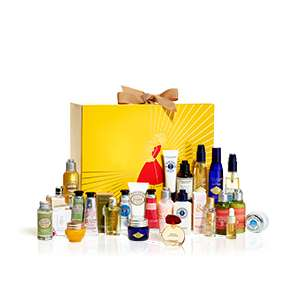 L'OCCITANE Luxury Advent Calendar worth £129 + Choice of free Gift + Free Del + 6.3% Cashback £89 @ L'OCCITANE
