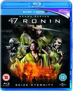 47 Ronin (with UltraViolet Copy) Blu-ray - £3.08 with code @ Zoom