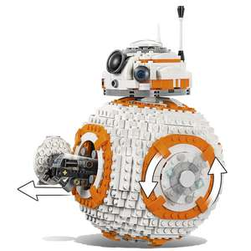 LEGO Star Wars BB-8 - £59.99 (Plus FREE 4 Pack of LEGO Mini-figures worth £14.99 & R3-M2 Mini-figure) - Toys R Us