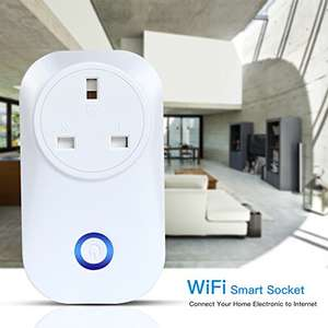 WiFi Smart Plug £8.99 (+3.99 non-prime) Sold by CrazyFire Europe and Fulfilled by Amazon