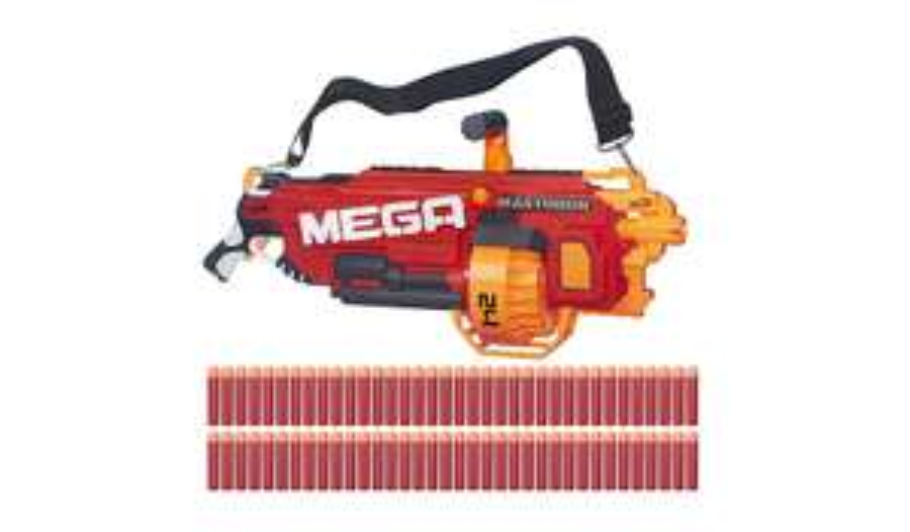 Nerf N-Strike MEGA Mastodon Blaster with bonus darts - £60 @ ASDA
