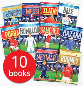 Football Legends Collection - 10 Books £9.99 + £2.95 Delivery (Book People / ebay store)