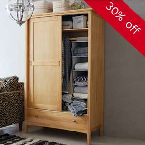 30% off a range of solid pine furniture at M&S