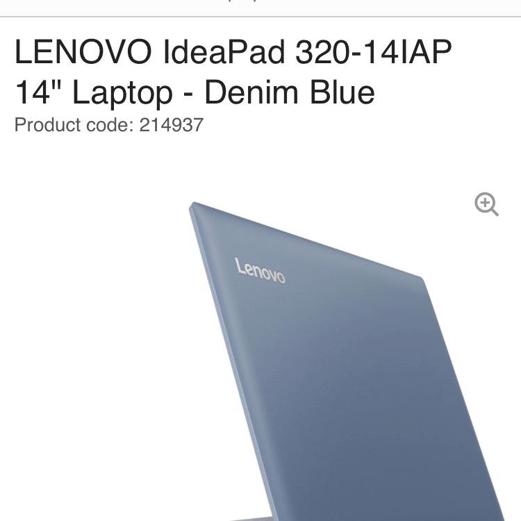LENOVO IdeaPad 320-14IAP - £299.99 @ Currys