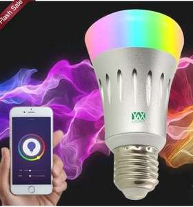 Ywxlight E27 Wi-Fi Multicolored Led Bulbs Dimmable Smartphone Controlled Ac 85 - 265V  -  RGB 22749 - Works with Alexa £8.40 Gearbest