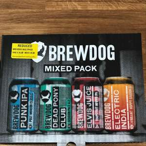 Brewdog Mixed Pack (12 cans) £8 @ Morrrisons - Alloa