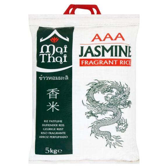 5kg bag of rice at Morrisons for £5.00