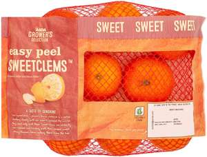 ASDA Grower's Selection (Easy Peel) Sweet Clementine Oranges (600g) was £1.50 now 85p (Rollback Deal @ Asda