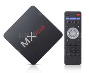 MX PLUS TV Box - ( Amlogic S905 / Android 5 / 1GB RAM / UK PLUG) £18.33 Delivered with code @ Gearbest