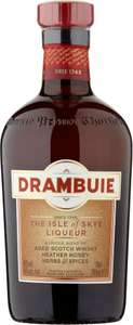 Drambuie (70cl) was £25.00 now £18.00 @ Sainsbury's