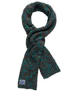 New Womens Superdry Colour Splash Scarf Charcoal Teal Twist £8.99 @ Superdry / Ebay