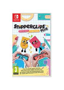 Snipperclips+ (Plus) Cut It Out; Together (Nintendo Switch) £19.99 @ Grainger Games or £20.85 @ Base