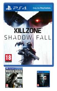 Preowned PS4 Games Triple Pack - Dishonored 2, Watch Dogs, Killzone £13 @ GAME