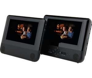 Bush 7 Inch Twin Screen In-Car DVD Player *NEW* £43.99 del @ Argos Ebay