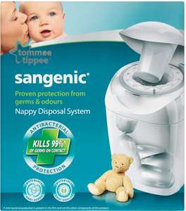 Tommee Tippee Sangenic Nappy Disposal System each was £20.00 now £10.00 (Rollback Deal) @ Asda