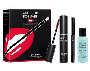 Make up forever basics gift set half price £9.75 @ Debenhams - £2 c&c