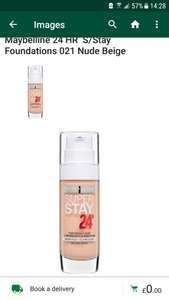 Maybelline 24h Super Stay Foundation £3.50 @ Morrisons