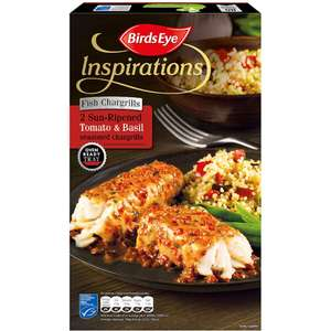 Birds Eye Inspirations Fish (Alaska Pollock) (82%)Char-grilled with Tomato and Herb (300g) and two Chicken dishes was £3.50 now 3 for £5.00 @ Tesco