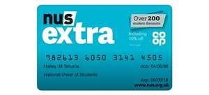 It's back! NUS Extra card for £16 (+ £1.50 postage) via online course at e-careers Go grooupie (1 year card)