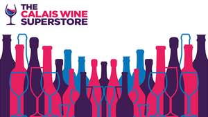 Free Eurotunnel Le Shuttle same day or overnight return ticket when you buy £250 of wine, beer and Champagne @ Calais Wine