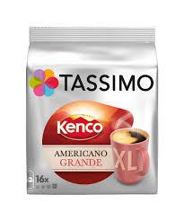 Tassimo Kenco Americano Grande XL Coffee Pods x16 £3 @ Sainsbury's