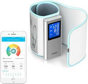 Koogeek Wireless Blood Pressure Monitor over 50% off £26.99 Sold by aoputek and Fulfilled by Amazon