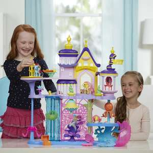 My Little Pony The Movie 2 in 1 Canterlot & Seaquestria Castle Play Set £34.99 Del @ Amazon ( £62 - £80 elsewhere)