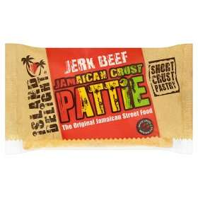Island Delight Jamaican Crust Pattie 140g (Variety to choose from) Rollback 60p Each @ Asda